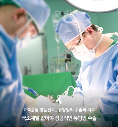 유방암의 수술적 치료