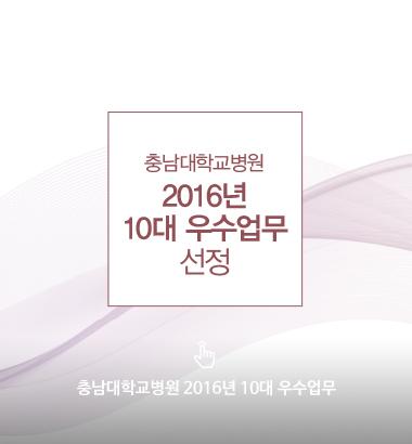 2016년 10대 우수업무